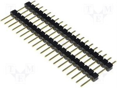 Male Pin Headers with Board Spacer (2.54mm 40 pin)