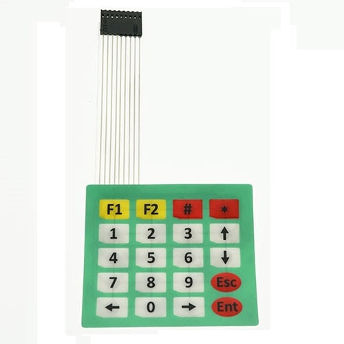 Membrane Keypad 20 Key (Matrix 4x5)