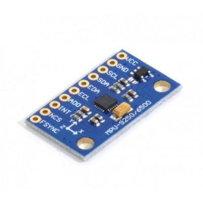 MPU 9250 (3 Axis Gyroscope + 3 Axis Accelerometer + 3 Axis