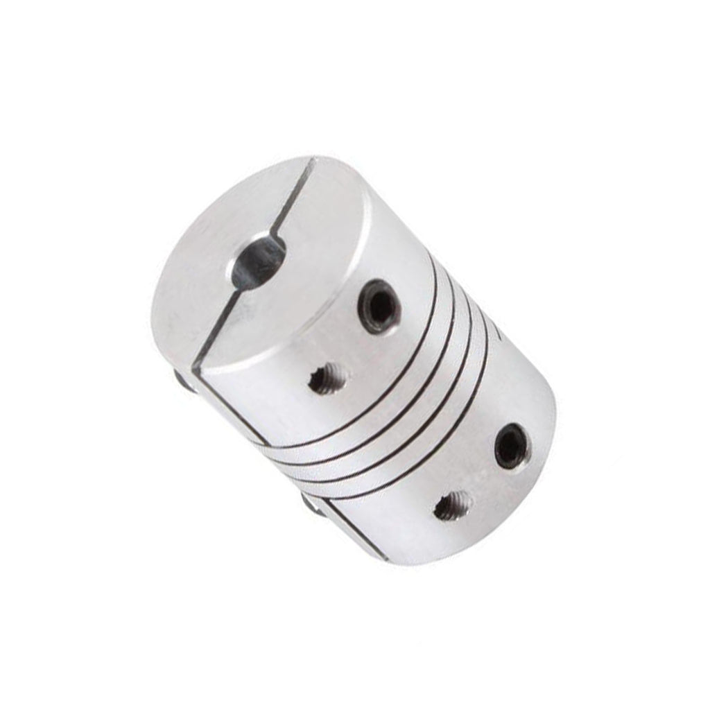 Flexible Coupler for NEMA 23 Stepper (6.35 to 10 mm)