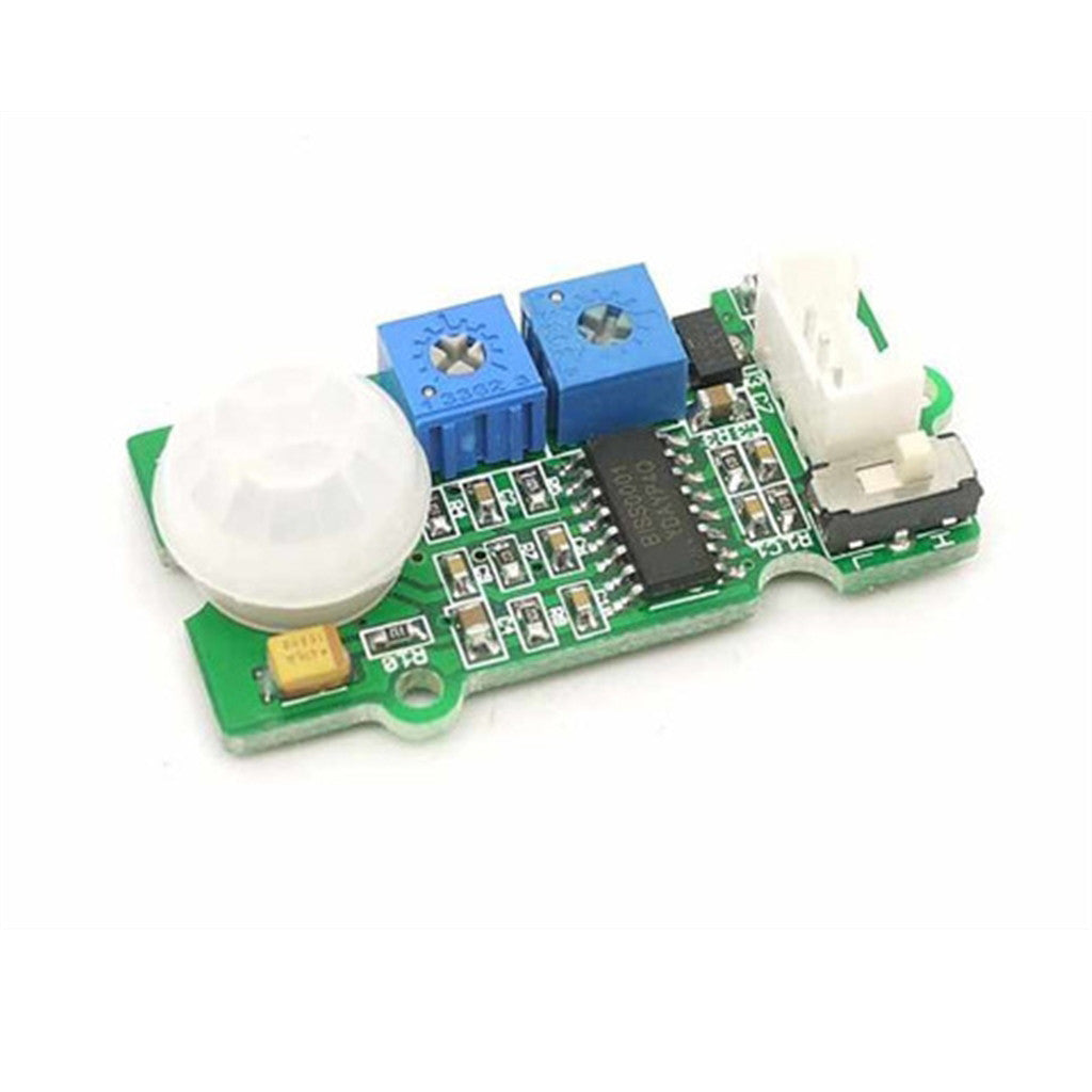 PIR Sensor (Adjustable Range and Detection Time)