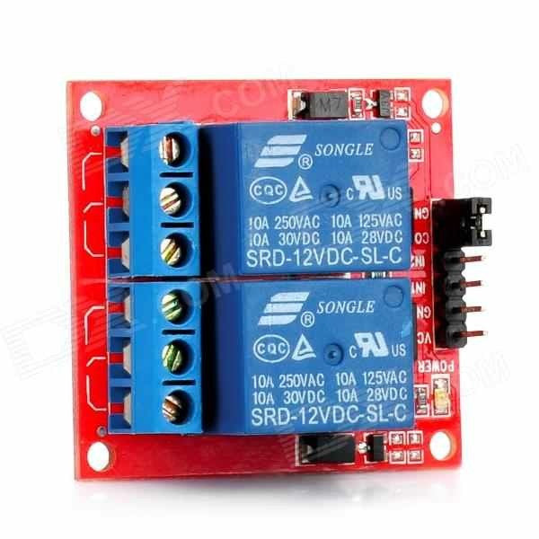 Relay Module  (2 Channels - 12V)