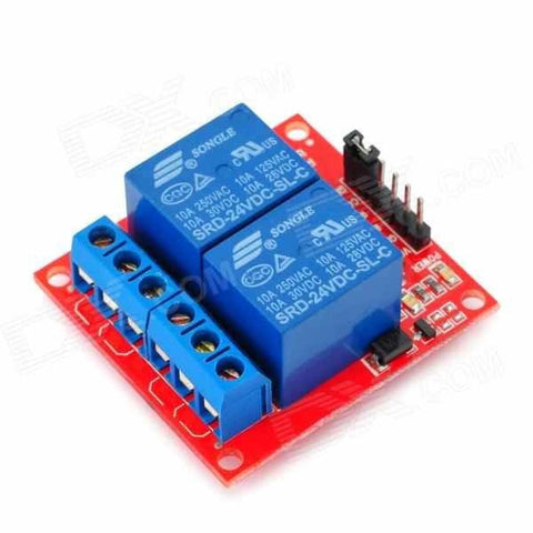 Relay Module  (2 Channels - 24V)