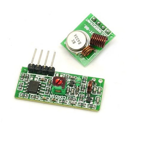 Wireless RF Kit 433 Mhz (Transmitter+Receiver)
