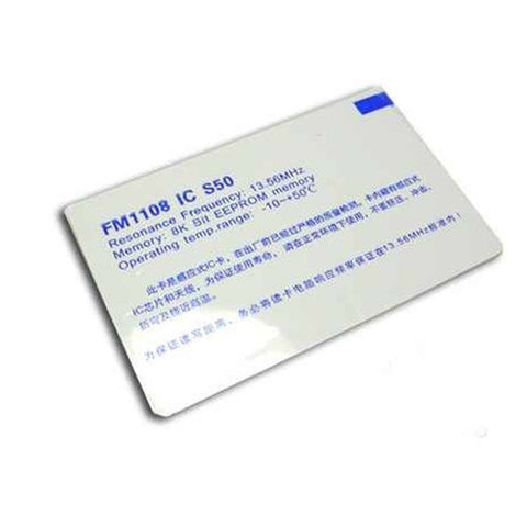 Mifare-One RFID card (13.56Mhz)
