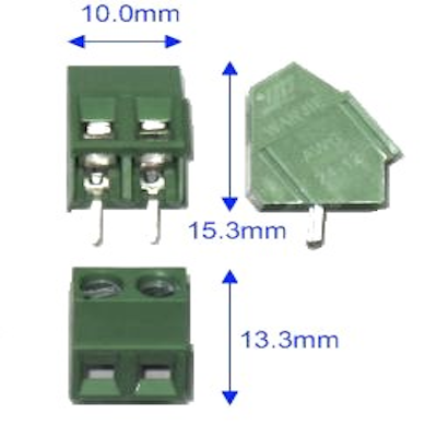 Rising Clamp Terminal Block-2Pin