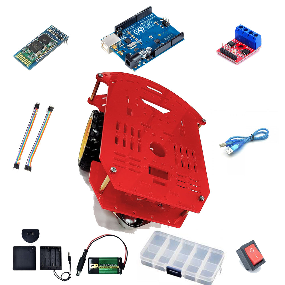Mobile Robot Kit (Bluetooth Android Version)
