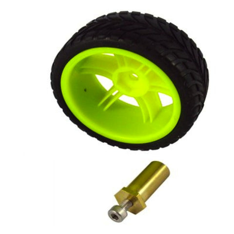 Robot Wheels (Tire) with Coupler
