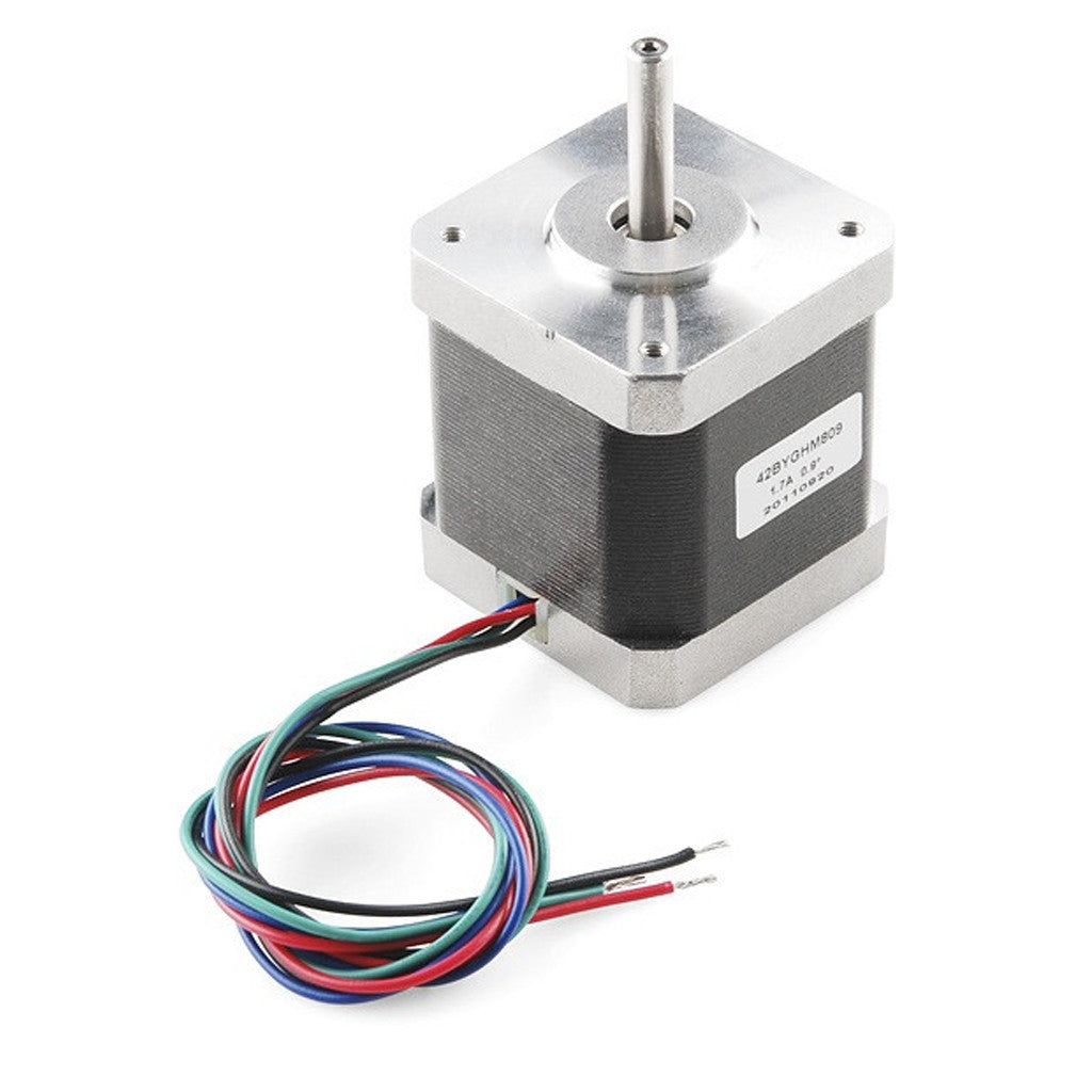Stepper motor nema 17 4 2 future electronics for Nema 17 stepper motor datasheet
