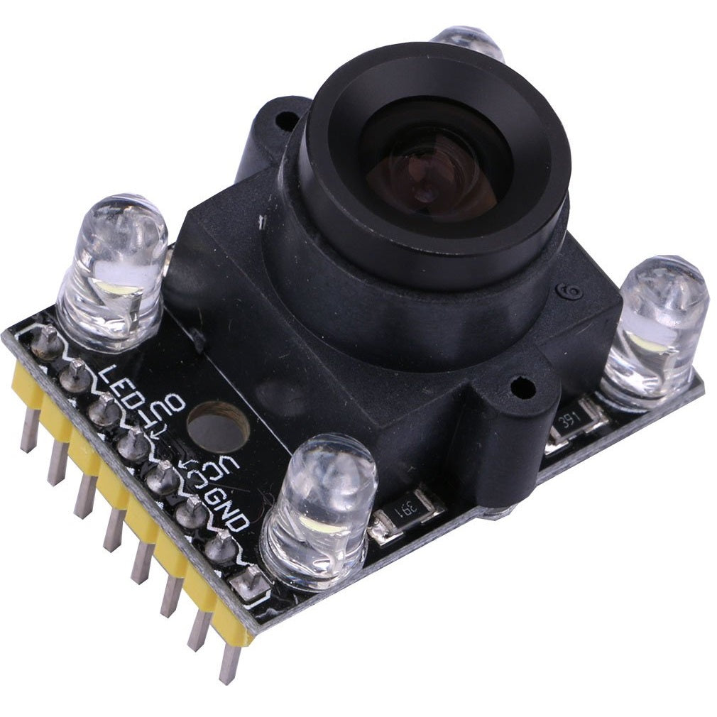 Color Sensor with Focusable Lens (TCS3200 )