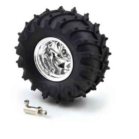 Tire with Motor Coupler (Wheel for Tough Land)