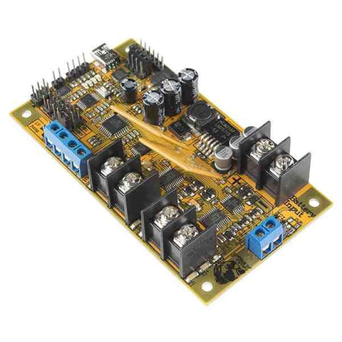 Dual DC Motor Controller & Driver (20A Rated-40A Max)