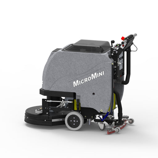 Tomcat's MICROMINI Floor Scrubber Dryeris known for its simple design and durable construction, offering unmatched value for the customer. The MICROMINI Floor Scrubber Dryer comes either as a Pad Assist or Traction version.