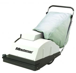 Minuteman 747 Wide Area Vacuum Series is available in battery or corded electric power.