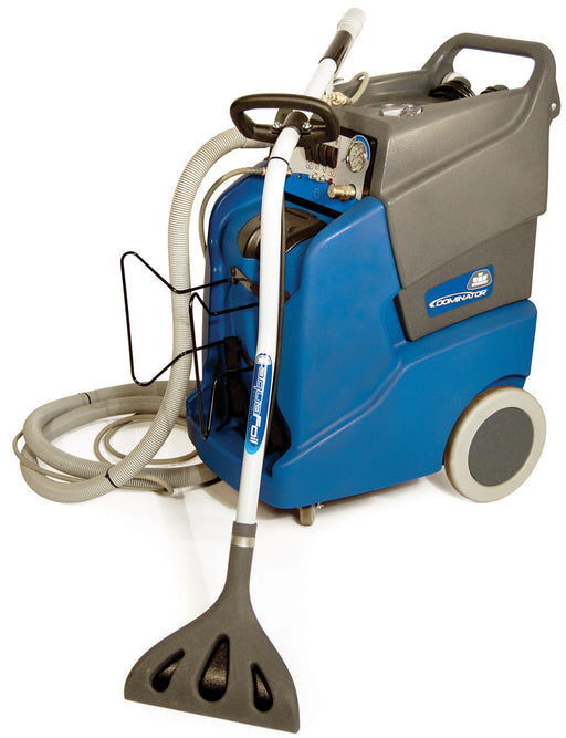 The Dominator 17 has larger capacity solution and recovery tanks to accomplish more. It also has wide open accessibility to service components, making maintenance and cleaning a simple task. All controls are conveniently positioned in one easy to reach location.