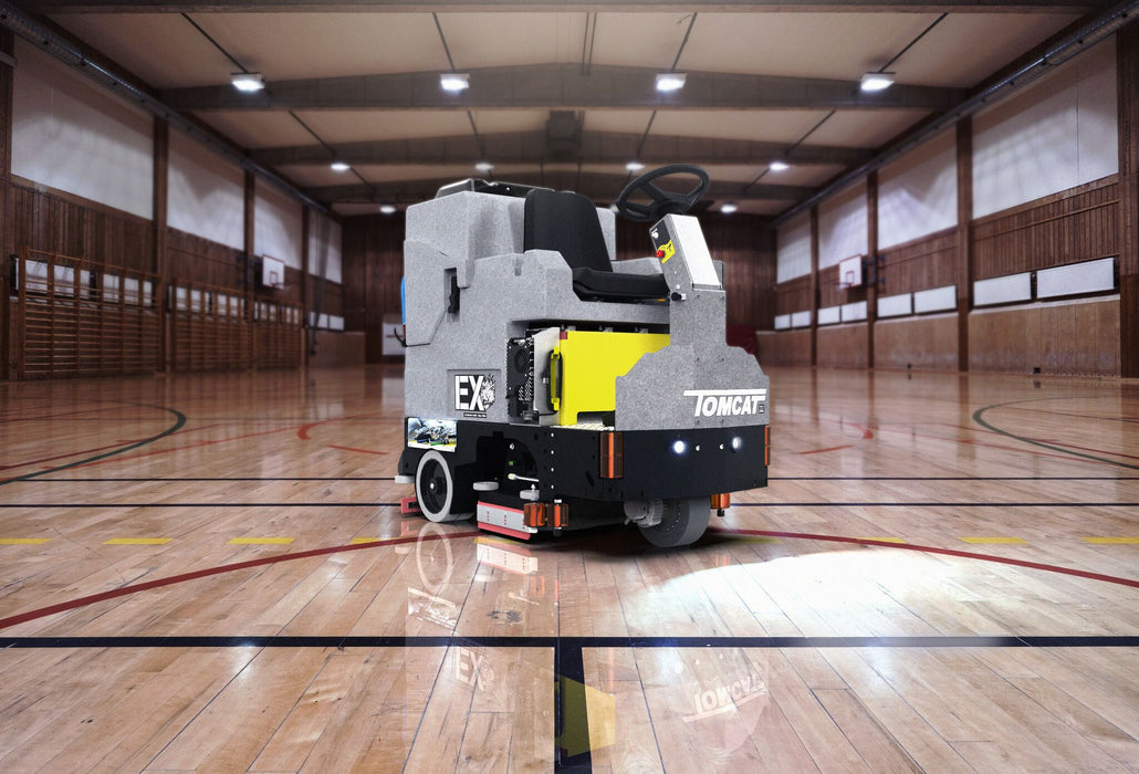 Our EX Floor Scrubbers are not only loved for their long battery life but also because of their unbelievable scrubbing power.