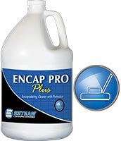 ENCAP PRO PLUS is a concentrated encapsulating cleaner containing low moisture deep cleaning compounds and short chain fluorochemical technology.