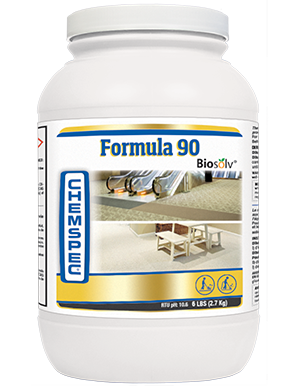 Low-foaming formulation includes corrosion inhibitors to protect extraction equipment. Boosted with Biosolv to cut greasy soils.
