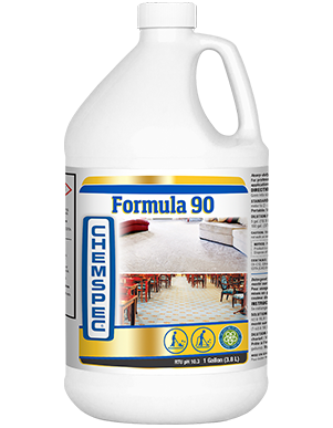 Heavy-duty, highly concentrated, triple-strength carpet cleaning detergent for use with truckmounts or portable extractors.