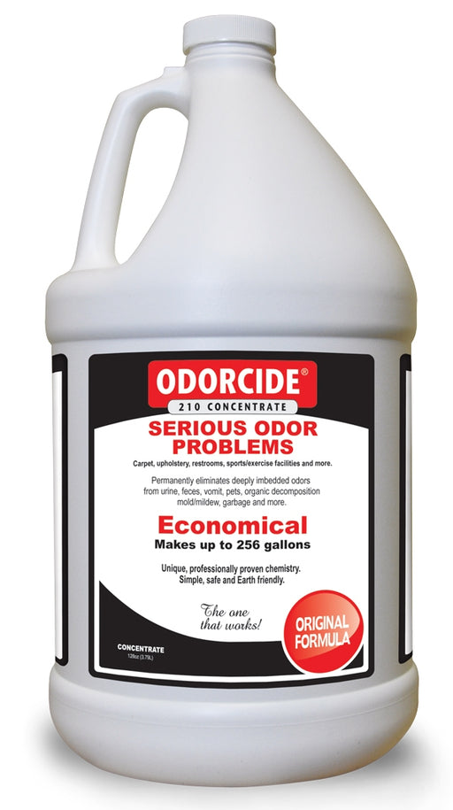 For general carpet deodorizing, add odorcide directly to the cleaning extraction system insuring it penetrates to the odor source.