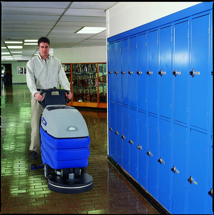 Large solution and recovery tanks increase productive cleaning time.