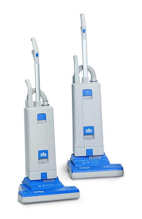 Provides effortless vacuuming with features like an ultra-light handle weight, quiet operation, and brush-assisted movement