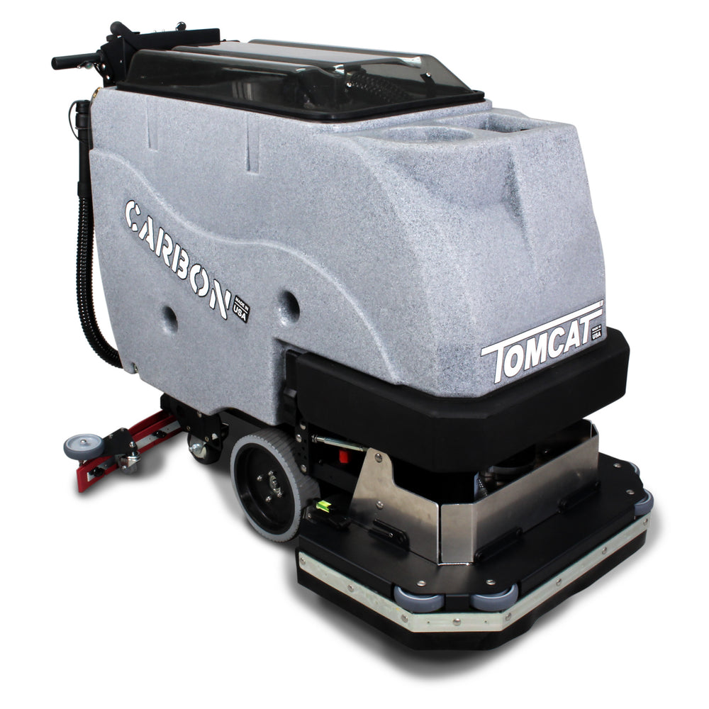 The newly released Tomcat Carbon is replacing the MiniMag in the mid-sized scrubber line. The Carbon is the perfect machine to clean 20,000 - 60,000 square feet.