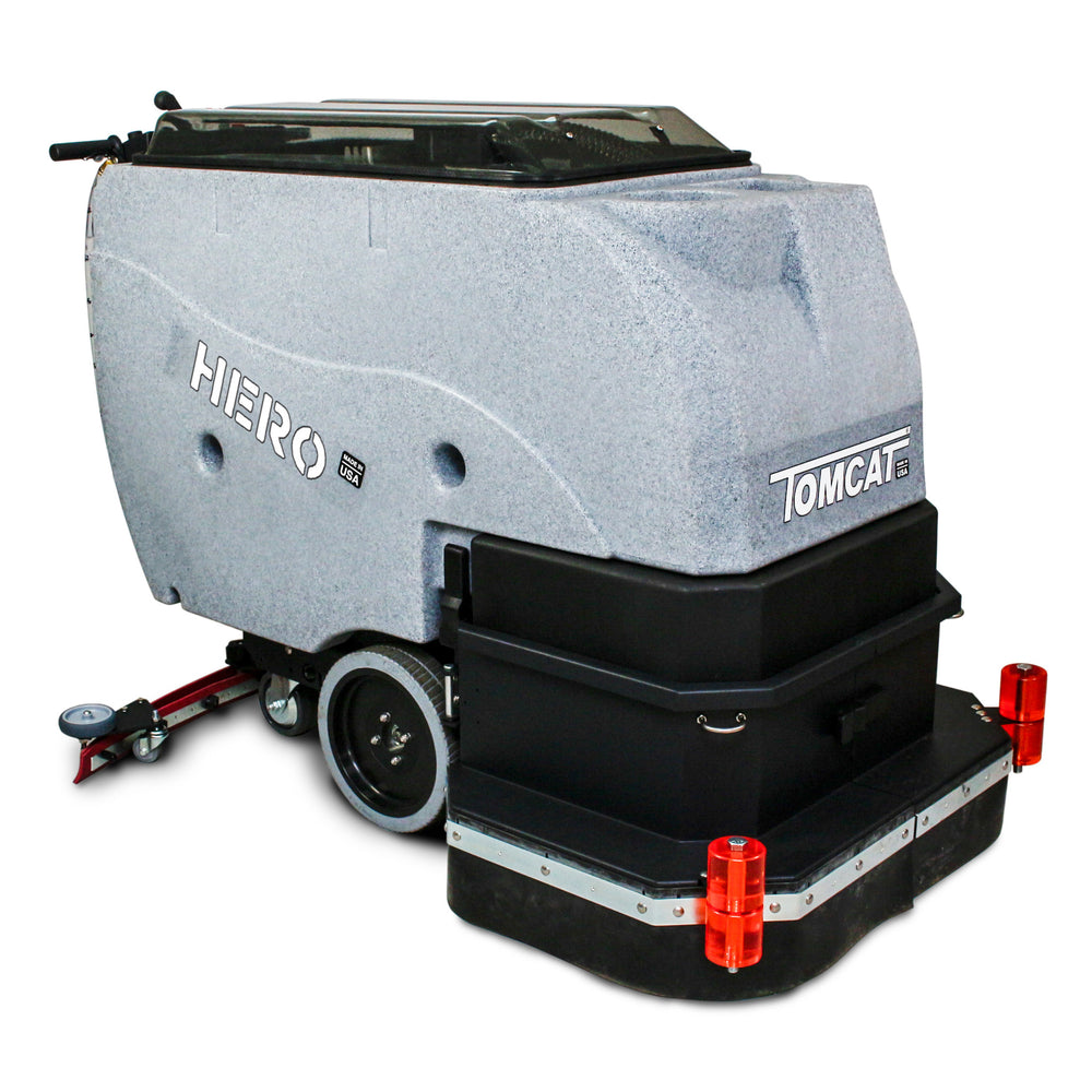 Tomcat's HERO Floor Scrubber Dryer is known for its simple design and durable construction, offering unmatched value for the customer.