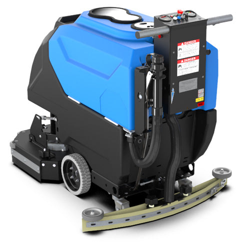 With performance and durability to get the job done faster time after time, the M28 Floor Scrubber cleans in every area of the facility due to its easy-to-maneuver design and medium footprint.