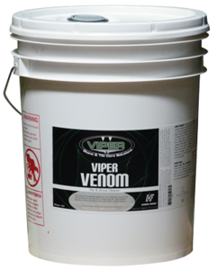 If you prefer a high alkaline, solvent fortified chemical to deal with heavy soil on hard surfaces...you want Viper Venom! The original tile and grout cleaner, it removes years of built up grease, dirt and stains! Dilute it 1:1 for tough jobs, more for lighter jobs! You'll see the dirt start to lift out of the grout even before you begin using your machine. Rinse well.