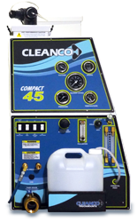 Complete truckmount operation starts with the precisely designed control panel featuring a gauge monitoring package, pressure & temperature controls and a dual speed setting for upholstery, carpet or hard surface cleaning.