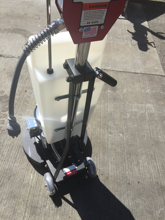 "Brute 17"" Weighted Floormachine - Stone Care Machine"