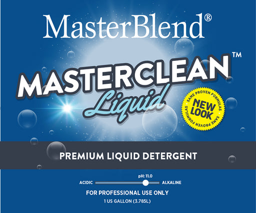 MasterClean Premium Liquid Detergent is the most powerful liquid detergent in the industry.
