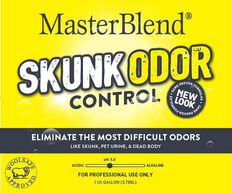 Skunk Odor Control Severe Odor Counteractant is formulated to eliminate the most difficult odors such as skunk, severe urine, and dead animal.