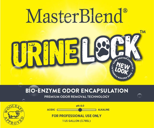 UrineLock is a specially formulated pet odor and stain solution that combines the effectiveness of odor encapsulation with the long-lasting stain and odor fighting capabilities of bio-enzymes. Odor encapsulation provides immediate odor relief. Biotechnology for stain and long lasting odor removal.