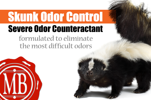 Skunk Odor Control  is an effective water-based odor counteractant.
