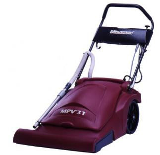Minuteman's MPV®-31 Wide Area Vacuum commands powerful suction to clean large carpeted spaces with efficiency, speed, effortless maneuverability and quiet operation.
