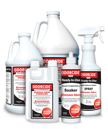 Odorcide 210 is a safe, economical and effective deodorizing product that leads to the complete elimination of odors.