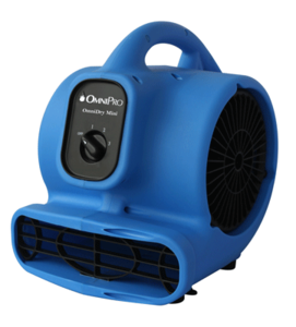 The OmniDry Mini is the most economical, powerful, energy-efficient and ETL Certified mini air mover.