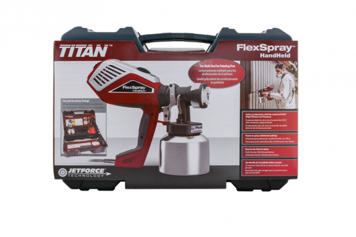 FlexSpray™ puts the power of airless and the control of HVLP into one versatile sprayer creating the first multi-tool for painting professionals.