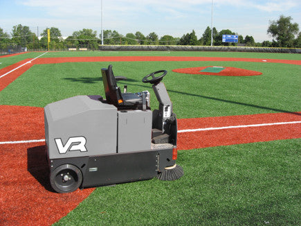 The VR is great on AstroTurf because it is one of the few things to easily and quickly clean it.