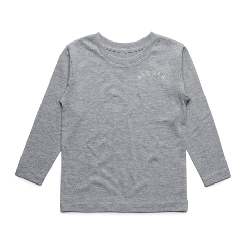 Heather Grey Jeff Hamada Long Sleeve Tee (Kids)