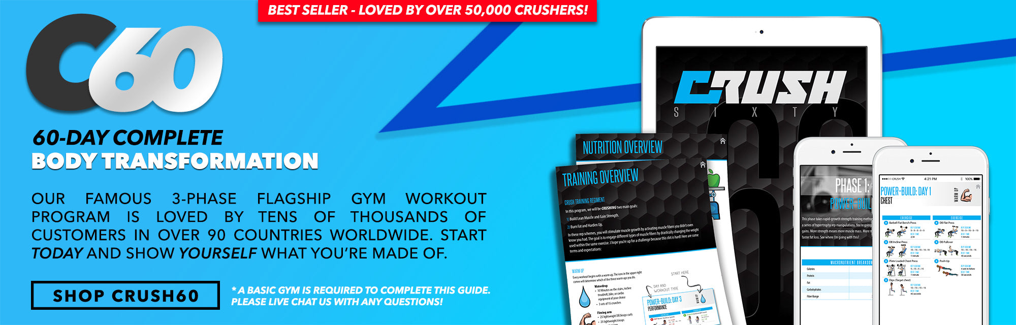 CRUSH60 WORKOUT GUIDE BEN WILLIAMSON CRUSH FIT
