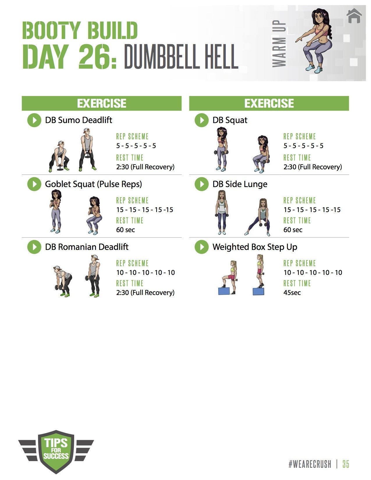 Booty Bootcamp Dumbbell Hell  Crush Fit-9193