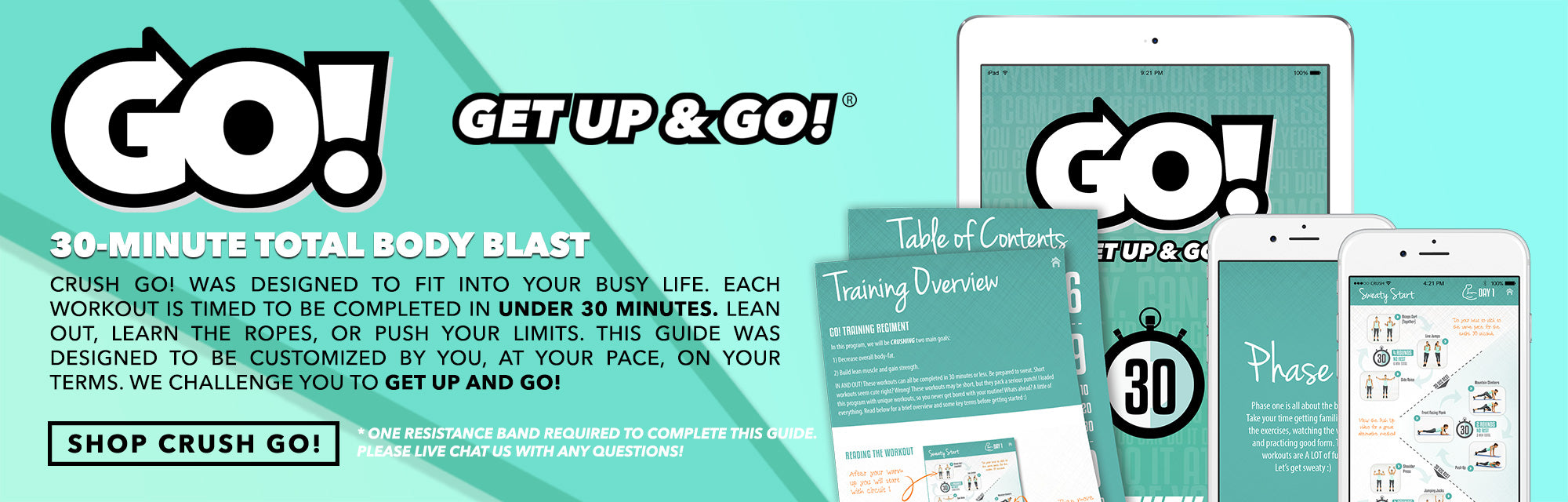 GO! WORKOUT GUIDE BY CRUSH FIT