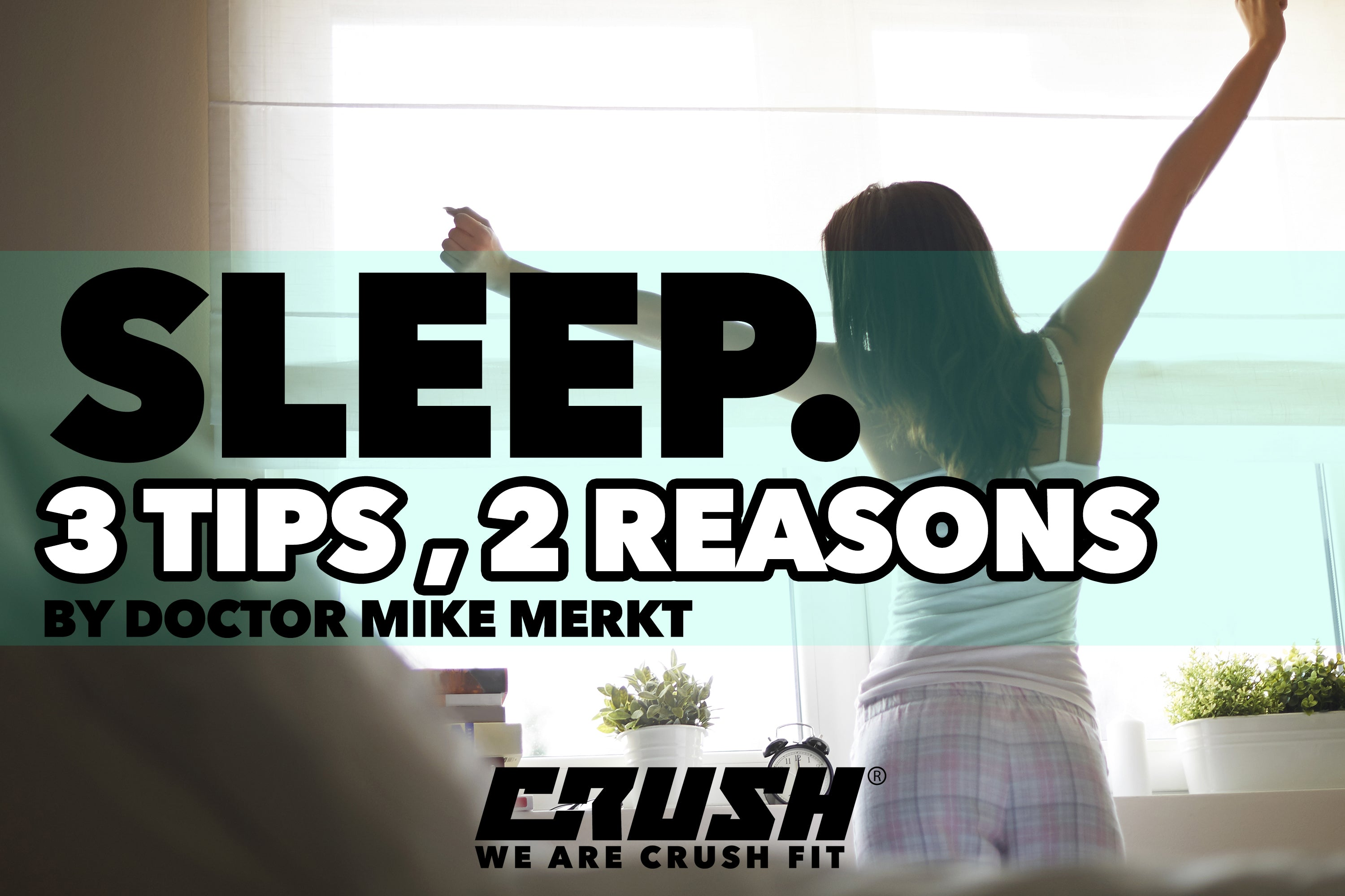 3 Tips to Getting A Good Night's Sleep