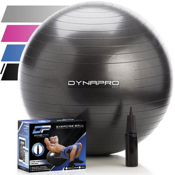 DynaPro Exercise Ball (Black)