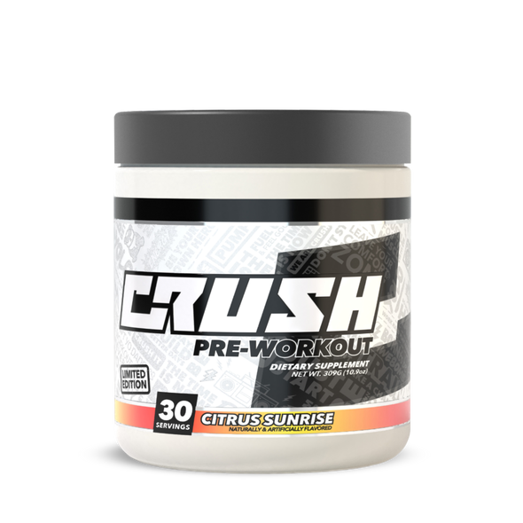 Crush Fit Pre-Workout Citrus Sunrise Flavor by CRUSH