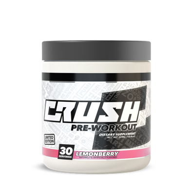 Crush Fit Pre-Workout Lemonberry Flavor by CRUSH