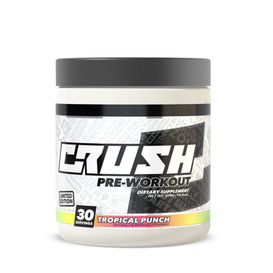 Crush Fit Pre-Workout Tropical Punch Flavor by CRUSH